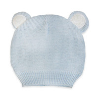 So'Dorable Bear Ear Sweater Knit Hat in Light Blue