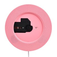 Peneric® Portable Latest Wall Hanging Mounted Hifi CDS Music Player Antenatal Training Wall Cd Player + Fm Radio + U Disk Listening to Music (Pink)
