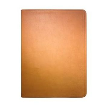 8 Inch Lined Soft Cover Journal  Traditional Leather - British Tan