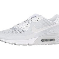 Nike Air Max 90 Hyperfuse Premium Womens Running Shoes Aura/White 454460-400
