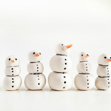 Snowman Christmas Decoration - Snowman Figurine
