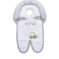 Boppy Organic Fabric Head & Neck Support - Let's Go