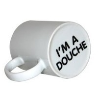 Thumbs Up! I'm a Douche Surprise Mug