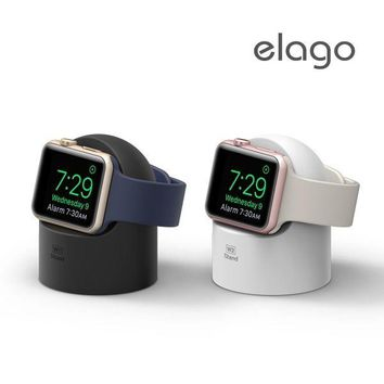 Apple Watch elago W2 Stand Compatible with Nightstand Mode Silicone Easy to Use