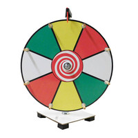 Prize Wheel 12 inch Dry Erase Color Face Classic Wooden Peg Design Free Shipping / Carnival Wheel / Wheel of Fortune Game / Birthday Game