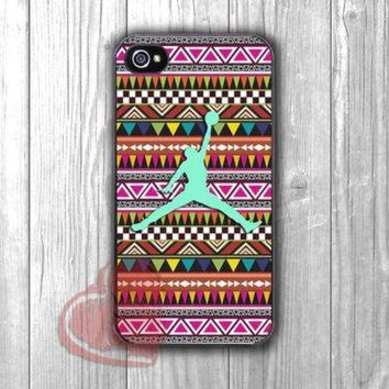 DCKL9 Aztec tribal pattern air jordan mint -5ho for iPhone 4/4S/5/5S/5C/6/ 6+,samsung S3/S4/