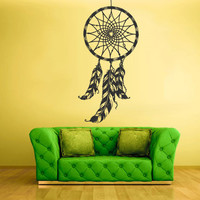 Wall Decal Bedroom Sticker Decals Dream Catcher Dreamcatcher Feather  z1410