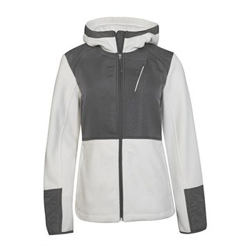 Free Country Womens Microtech Fleece Hooded Jacket