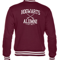 Hogwarts Alumni Harry Potter Inspired Unisex Varsity Jacket
