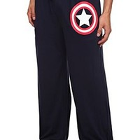 Marvel Universe Captain America Men's Pajama Pants - 313623