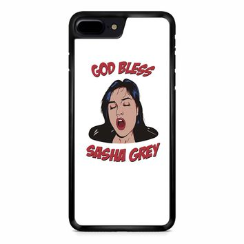 Sasha Grey God Bless 3 iPhone 8 Plus Case
