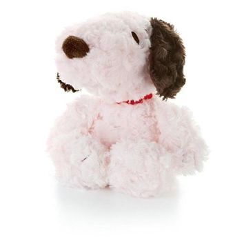 Pink Snoopy Stuffed Toy