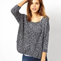 Denim & Supply By Ralph Lauren Off Shoulder Jumper