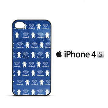 Grizzly Griptape Wallpaper X2283 iPhone 4   4S Case