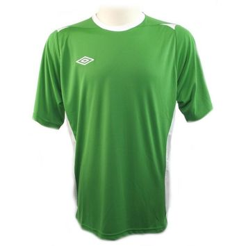 Umbro Mens Manchester Sleeves Football Polyester Shirt Soccer Jersey Sz L
