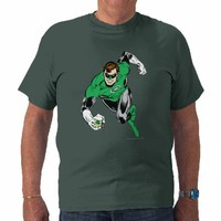 Green Lantern Fly Forward Tshirt from Zazzle.com
