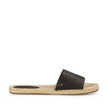 Ugg ? Cherry Exotic Leather Slide