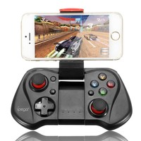ELEGIANT Bluetooth Game Controller Joystick Wireless Game Controller for iPhone Samsung HTC Sony Android Smart Phone Tablet PC TV BOX (Black)