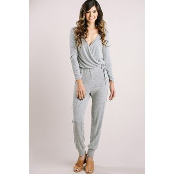 Allie Grey Lounge Jumpsuit