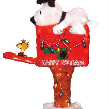 Peanuts Christmas Yard Art - Officially Licensed