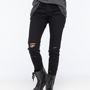 FLYING MONKEY Destroyed Womens Skinny Jeans | Skinny