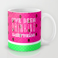 Drinking Watermelon Mug by M Studio
