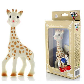 Baby toy 100% Safe material Sophie Giraffe Baby Teether Safe Natural Rubber food grade silicone beads toys baby dental care