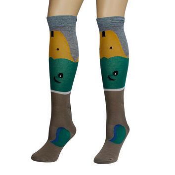 Mallard Duck Socks
