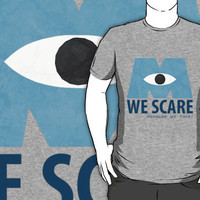 We Scare Because We Care! by EmmaDotFox