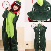 Dinosaur Kigurumi Pajamas Cosplay Costume Unisex Adult Onesuit Christmas Praty-in Costumes from Apparel & Accessories on Aliexpress.com