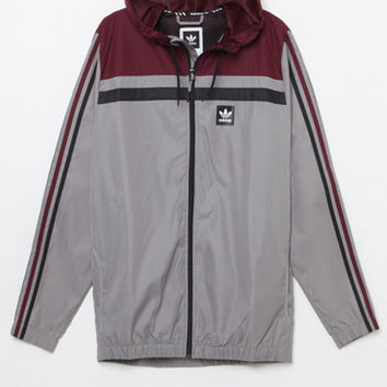adidas Gray Windbreaker Jacket at PacSun.com