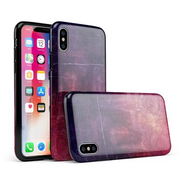 Abstract Fire & Ice V6 - iPhone X Swappable Hybrid Case
