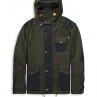 Made in England Plectrum Parka | Ivy Green | Ben Sherman