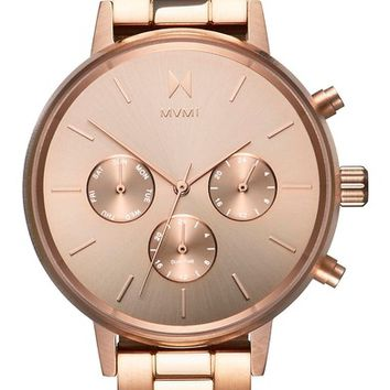MVMT Nova Chronograph Bracelet Watch, 38mm | Nordstrom