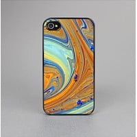 The Colorful Wet Paint Mixture Skin-Sert Case for the Apple iPhone 4-4s