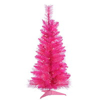 3' Pink Cashmere Christmas Tree with—Kmart