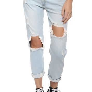Just Black H/R Super Destroyed Jeans