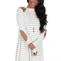 Turnin' Me Up Dress in Ivory | Monday Dress Boutique