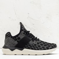 adidas Originals Black Tubular Runner Primeknit Shoes | HBX.