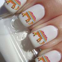Tribal Elephant Nail Decals