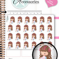 Hair Appointment Stickers Hairdresser Stickers Beauty Stickers Emely Stickers Planner Stickers Wellness Stickers Decorative Stickers NR1569