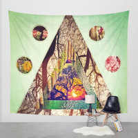 Grandeur of Nature Wall Tapestry by DuckyB (Brandi)