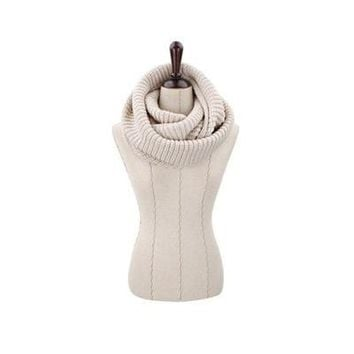 Plain Color Ring Women Scarfs