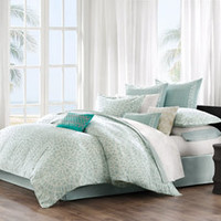 Echo Bedding Mykonos Comforter Set, 100% Cotton