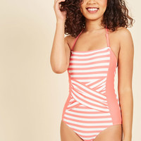 Down for a Dive One-Piece Swimsuit