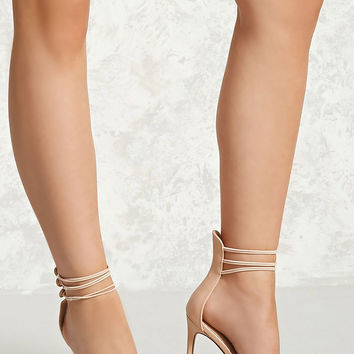 Triple Strap Stiletto Heels