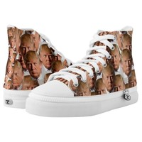 donald drumpf shoes sneakers printed shoes