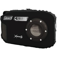 Coleman(R) C9WP-BK 20.0-Megapixel Xtreme3 HD Video Waterproof Digital Camera (Black)