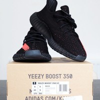 Addidas Yeezy Boost 350 V2 - Red - Ready Stock
