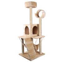 4 Ft Cat Tree House